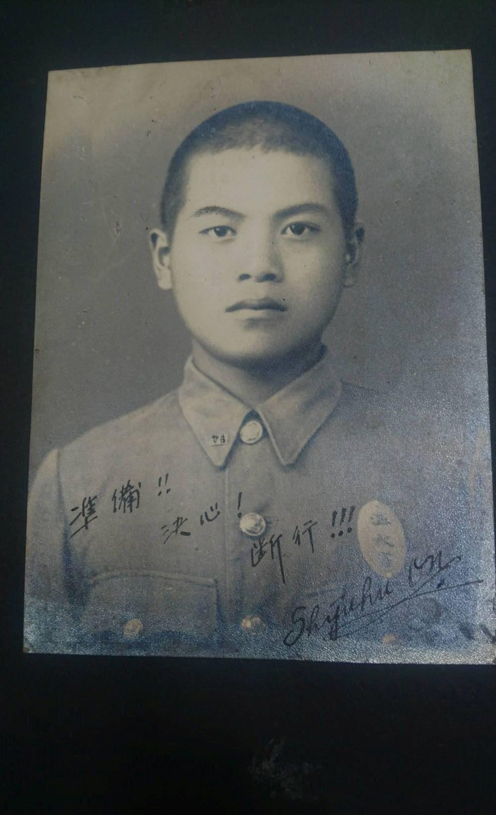 溫宗正的父親溫秋富是桃園農工第一屆畢業生。記者李京昇/攝影