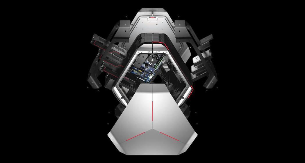 Alienware Area-51。圖/戴爾提供