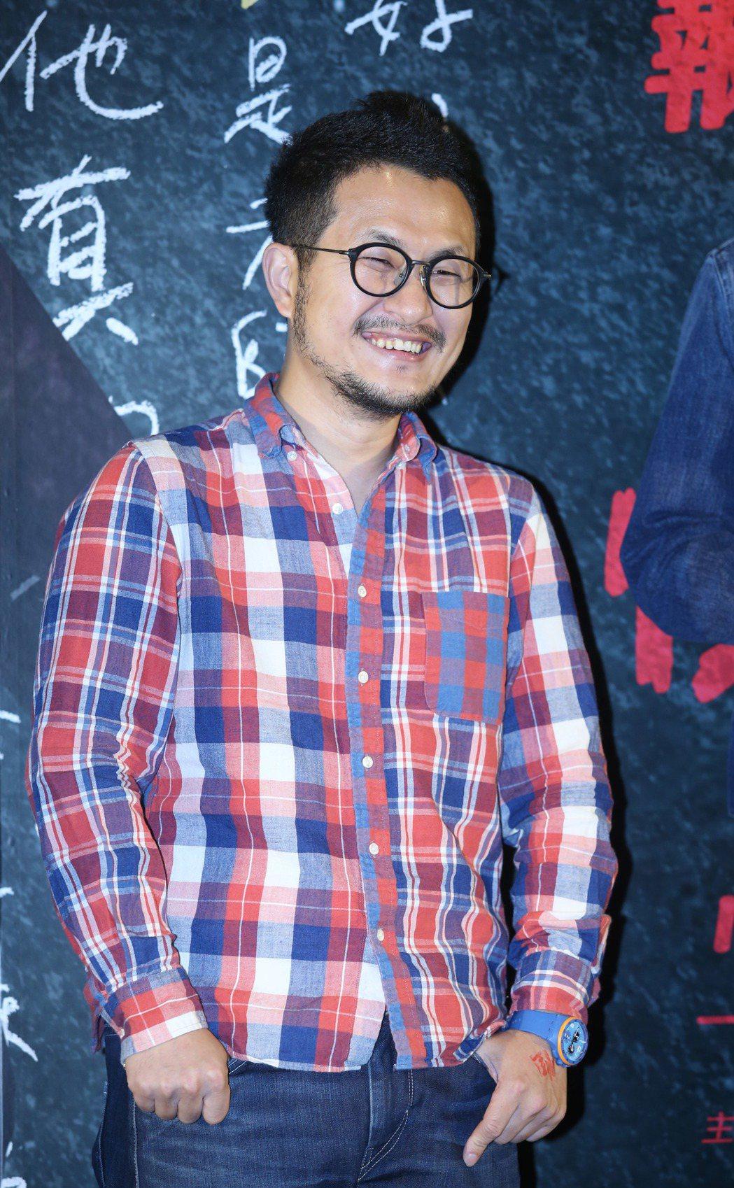 導演九把刀為新電影「報告老師!怪怪怪怪物!」宣傳。記者陳瑞源/攝影
