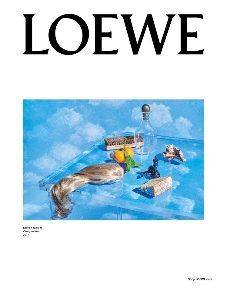 Steven Meisel命名為「Compositions」的系列形象圖。圖/L...
