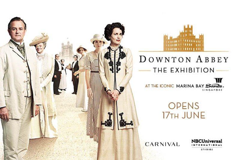 「唐頓莊園」特展將在新加坡開跑,粉絲有機會體驗劇中的夫人、小姐高雅生活。圖/摘自
