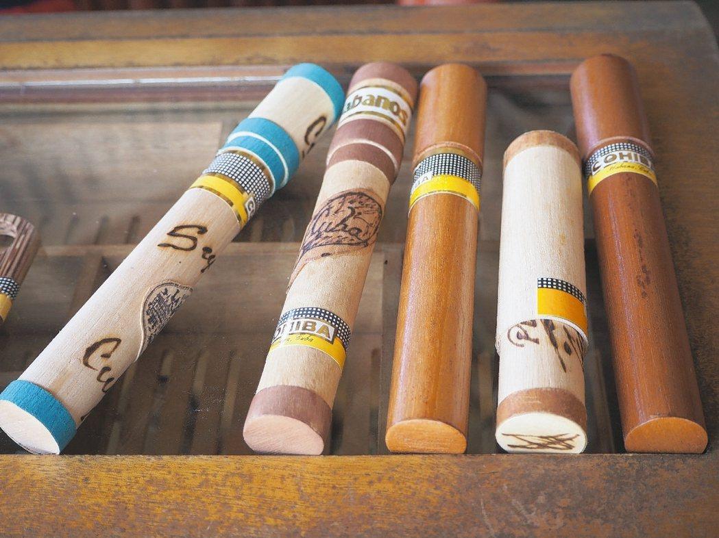 古巴雪茄與菸草是最賺錢的外銷品。 ※ 提醒您:抽菸,有礙健康 圖/李俊明