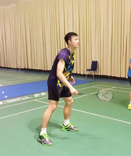 王子維闖進印尼頂超賽8強。 擷圖自王子維臉書。