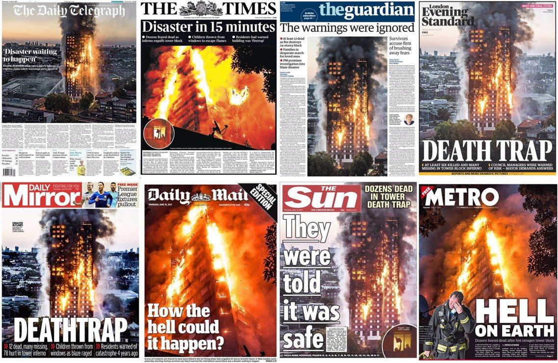 英國火燒房子