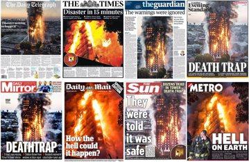 西倫敦火燒樓:17死、百人失蹤,因外牆而起的煉獄災難?