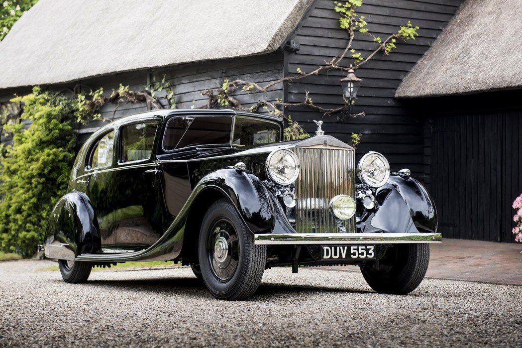 蒙哥馬利元帥愛駒The Butler Phantom III,伴其見證歷史與所有偉大時刻 。圖/Rolls-Royce提供