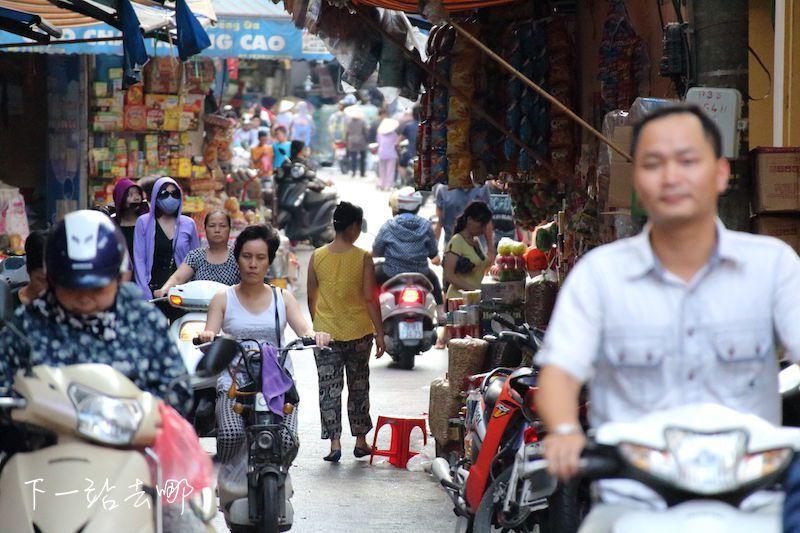 河內街景。 攝影/賴勳毅