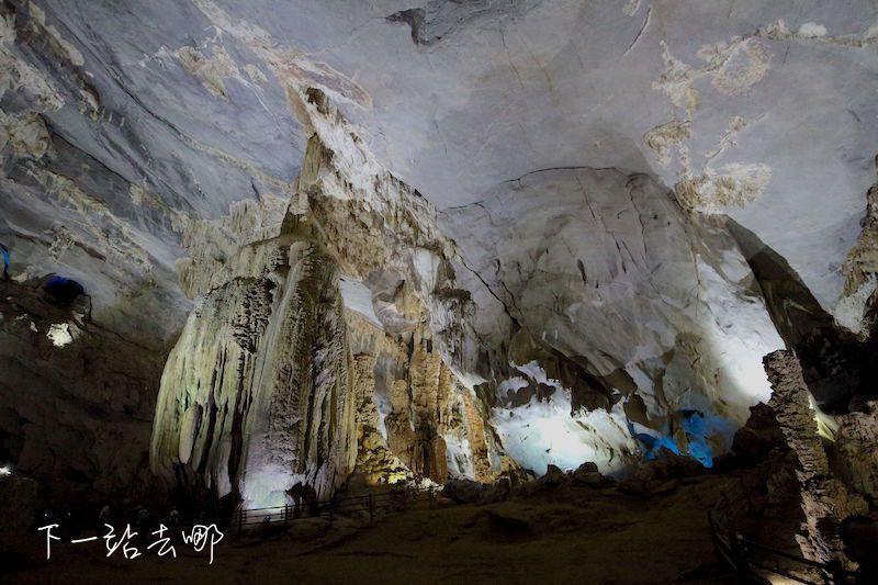 峰牙洞內大自然的鬼斧神工。 攝影/賴勳毅