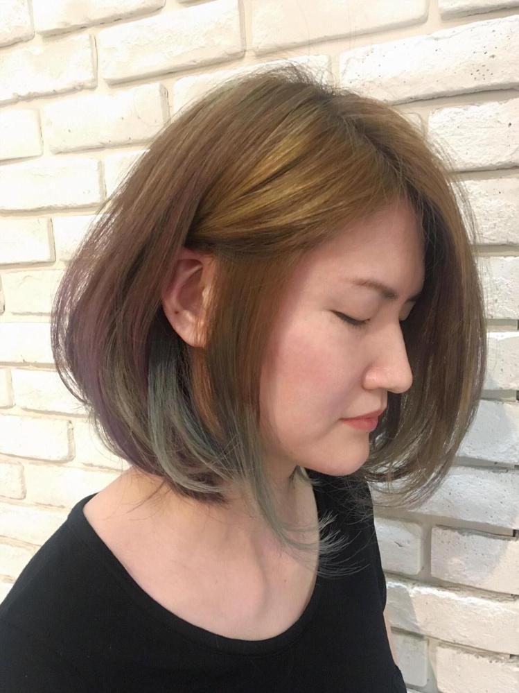 髮型創作/Vision Hair styling - 阿毛。圖/HairMap美...