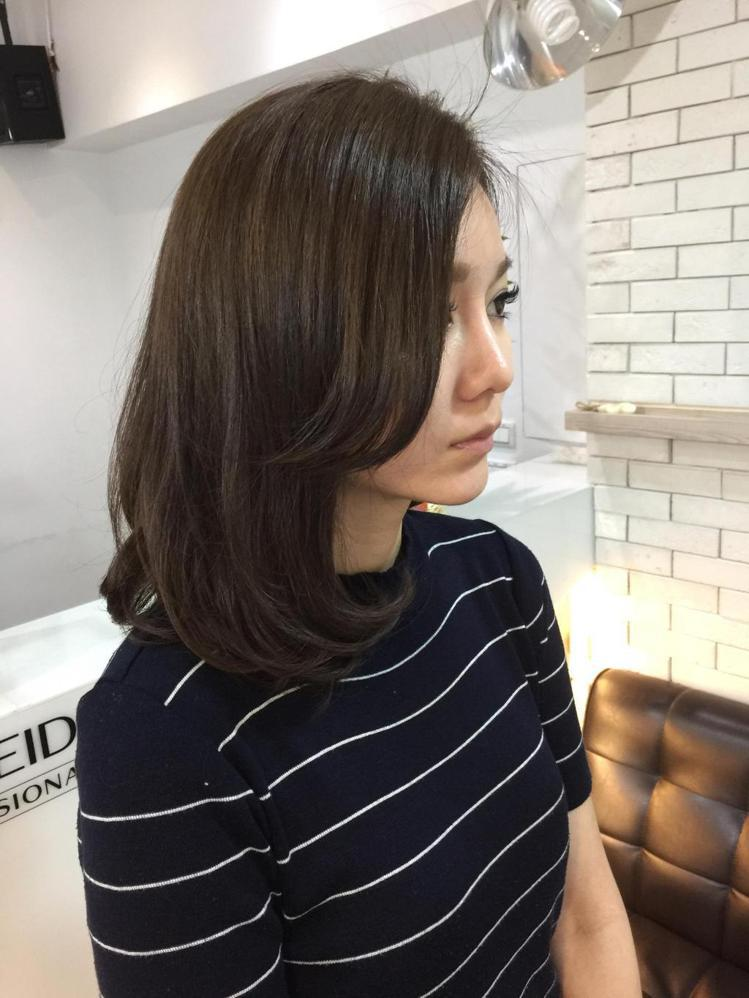 髮型創作/加慕秀(至聖店) - Ann 。圖/HairMap美髮地圖提供