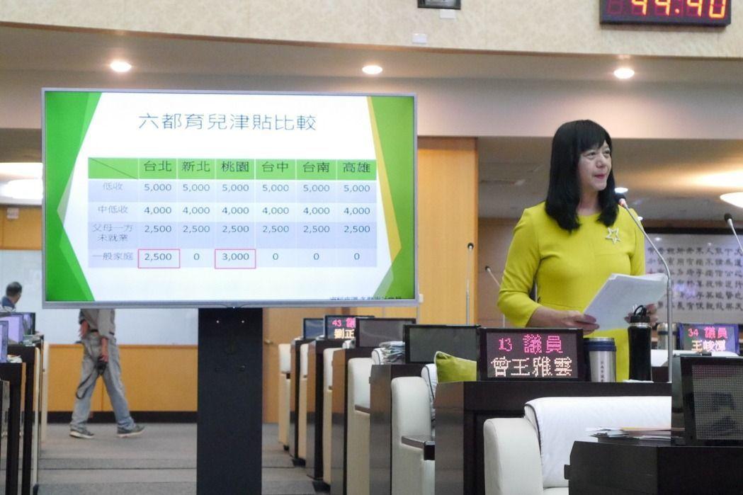 台南市議員曾王雅雲。圖/聯合報系資料照片