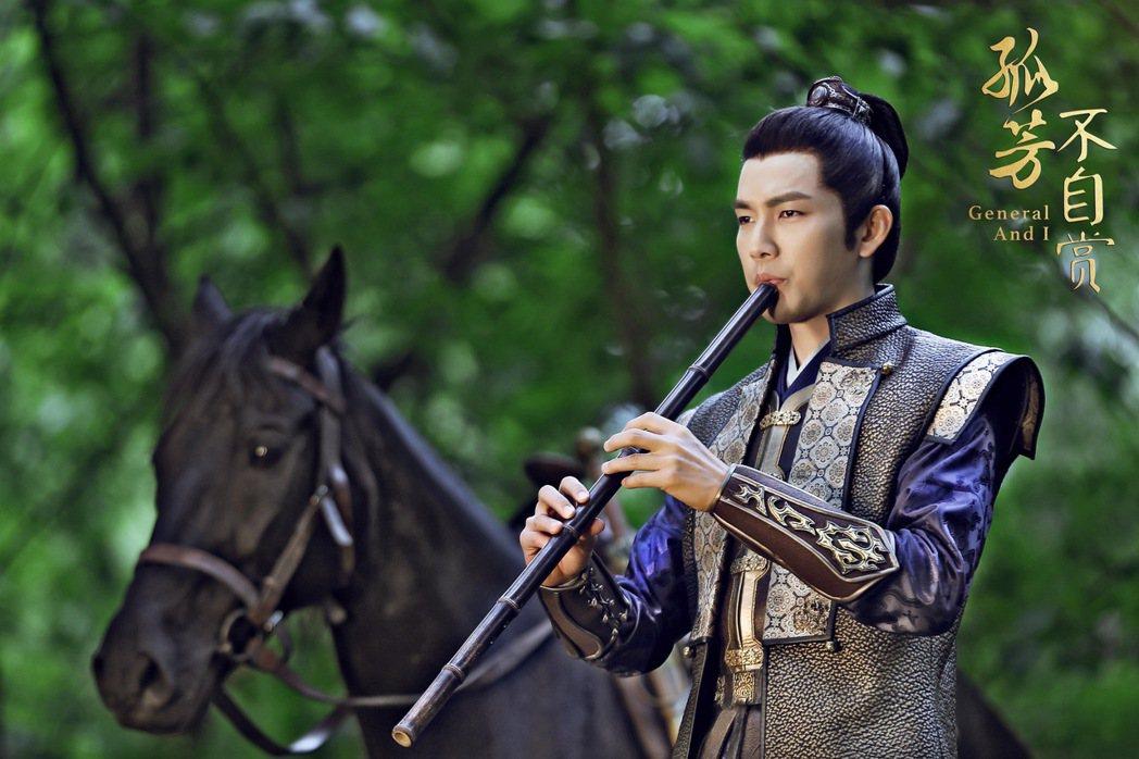鍾漢良在「孤芳不自賞」飾演專情男子。圖/緯來戲劇台提供