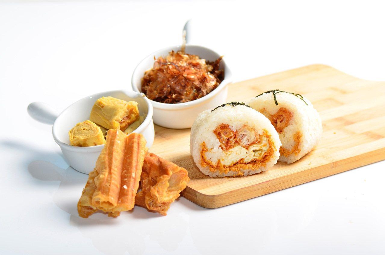 公主玉子燒飯糰。圖/台北W飯店提供