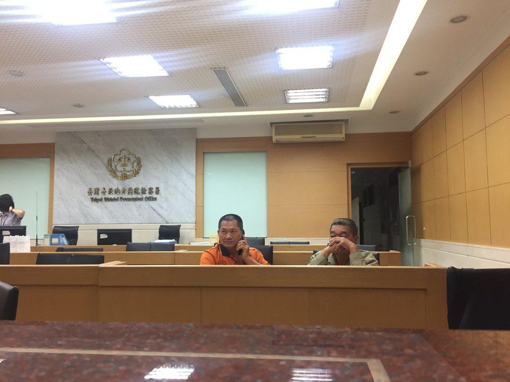 目前3名犯嫌依違反食安法以5至20萬元交保。記者賴佩璇/攝影。