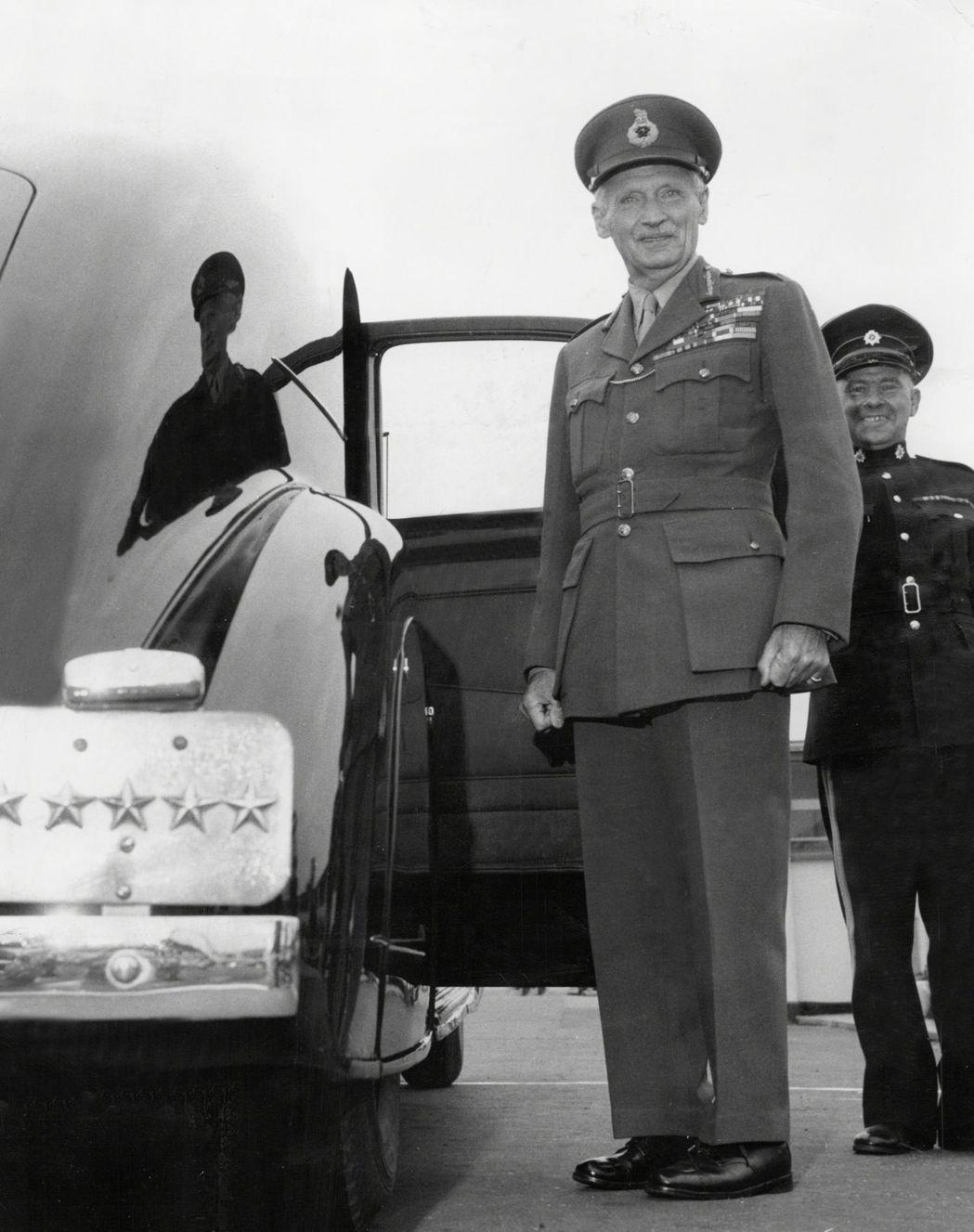 英國名將蒙哥馬利元帥(Field Marshal Bernard Law Mon...