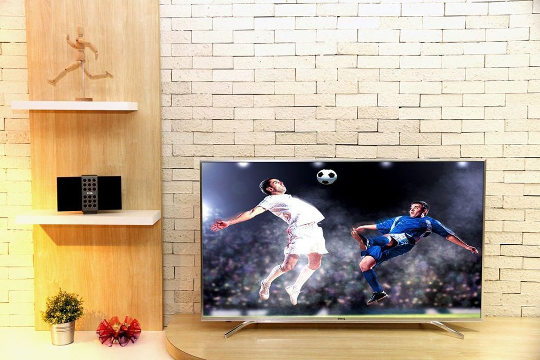 電視數位化潮流,明基推全系列4K HDR液晶顯示器。(圖:明基提供)
