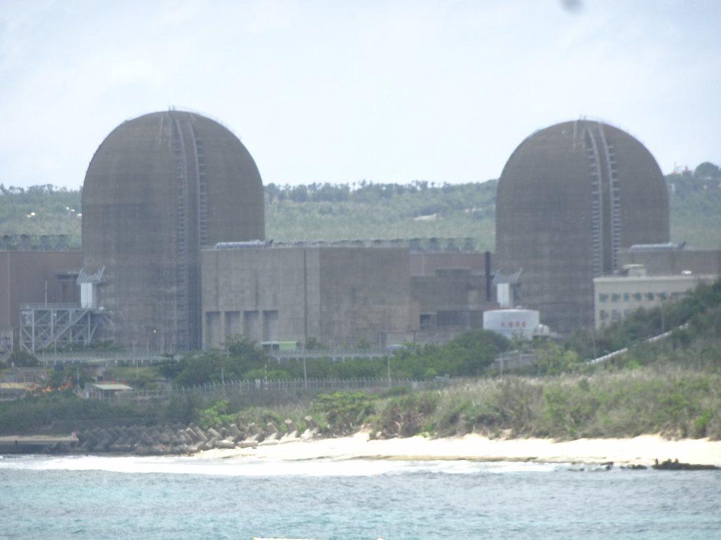 一波多折的台電核3廠2號機,終於在今天下午5時32分併聯發電。記者潘欣中/攝影