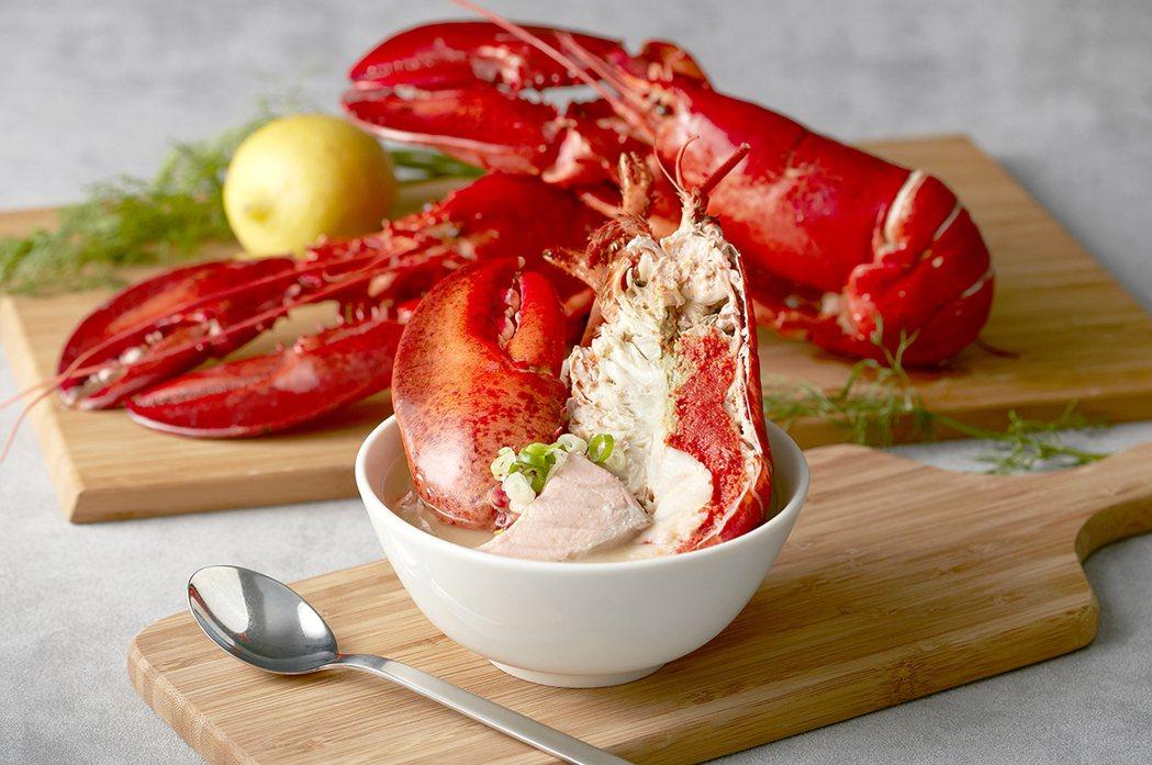 龍蝦味噌湯向來是餐廳內的人氣王。圖/寒舍艾美提供