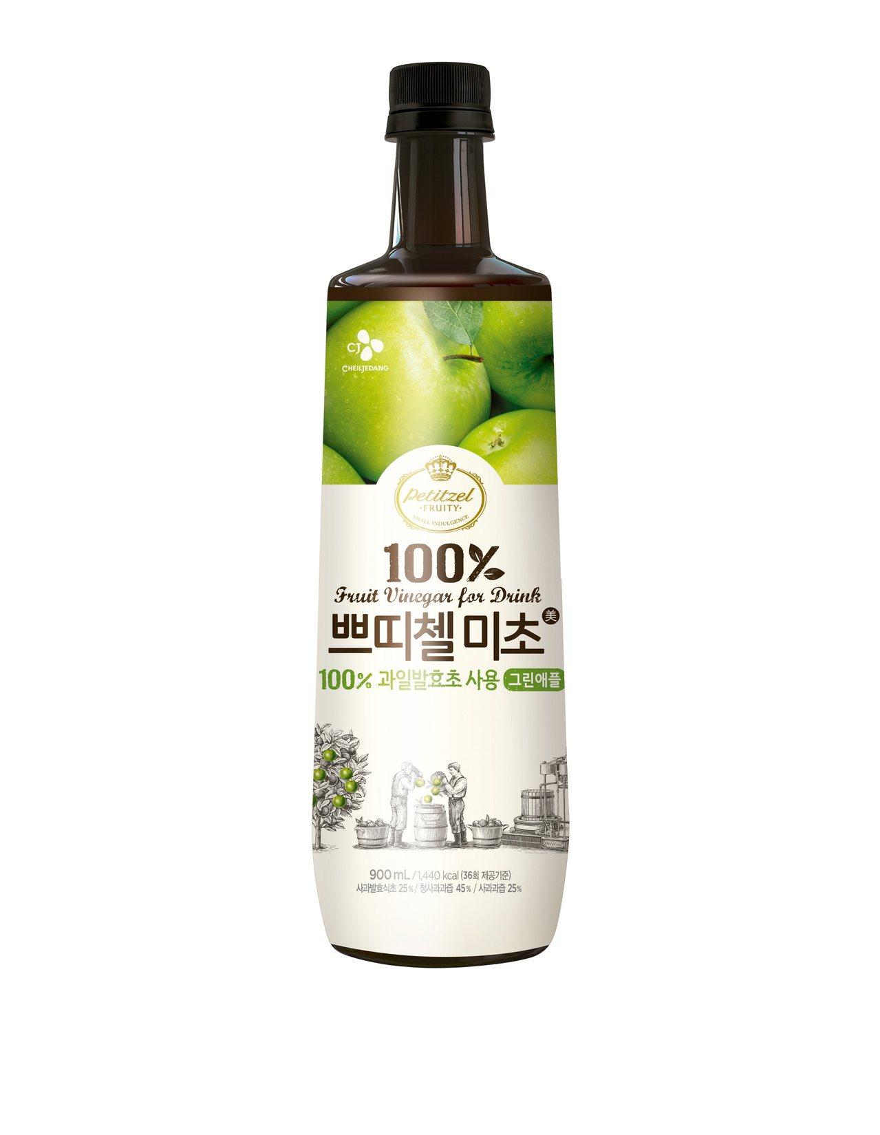 無色素、無甜味劑、無防腐劑的青蘋果果醋,是消油解膩的最佳飲品,而且入菜入酒都另有...