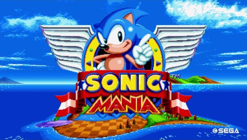 《SONIC MANIA》。圖/SEGA Games提供