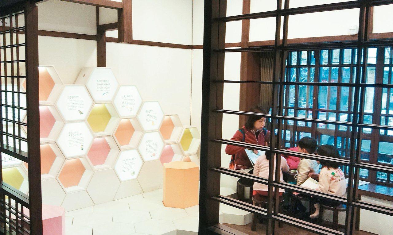 台中文學館兒童文學區。 ◎李欣倫/圖片提供
