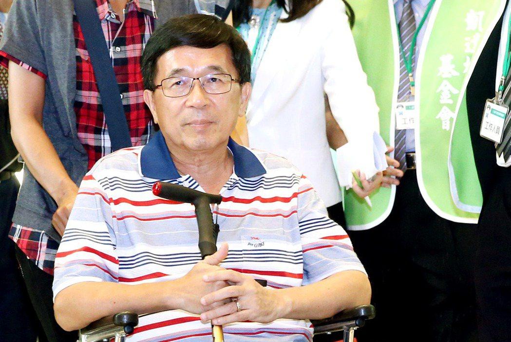 前總統陳水扁。 記者屠惠剛/攝影