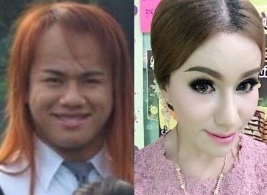 泰國南部1名其貌不揚的男子,在努力存錢後,做整容和變性手術,成為美嬌娘,還交了一...
