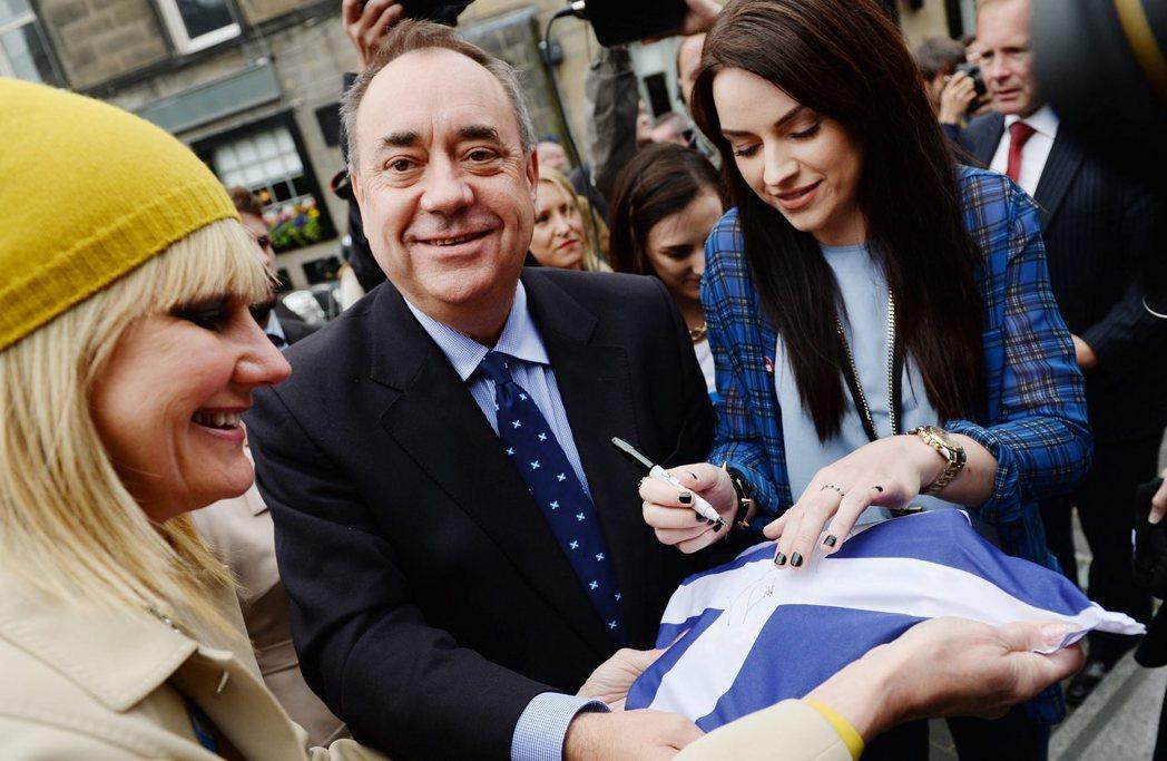 對比兩年前蘇獨公投的氣勢,蘇格蘭民族黨這次表現差強人意,甚至連領導該黨走上獨立公...