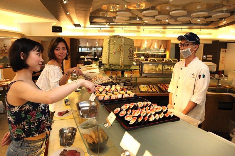 愛琴海西餐廳有超多異國美食