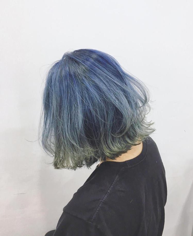 髮型創作/尤卡 hair salon / 王豆綠。圖/HairMap美髮地圖提供
