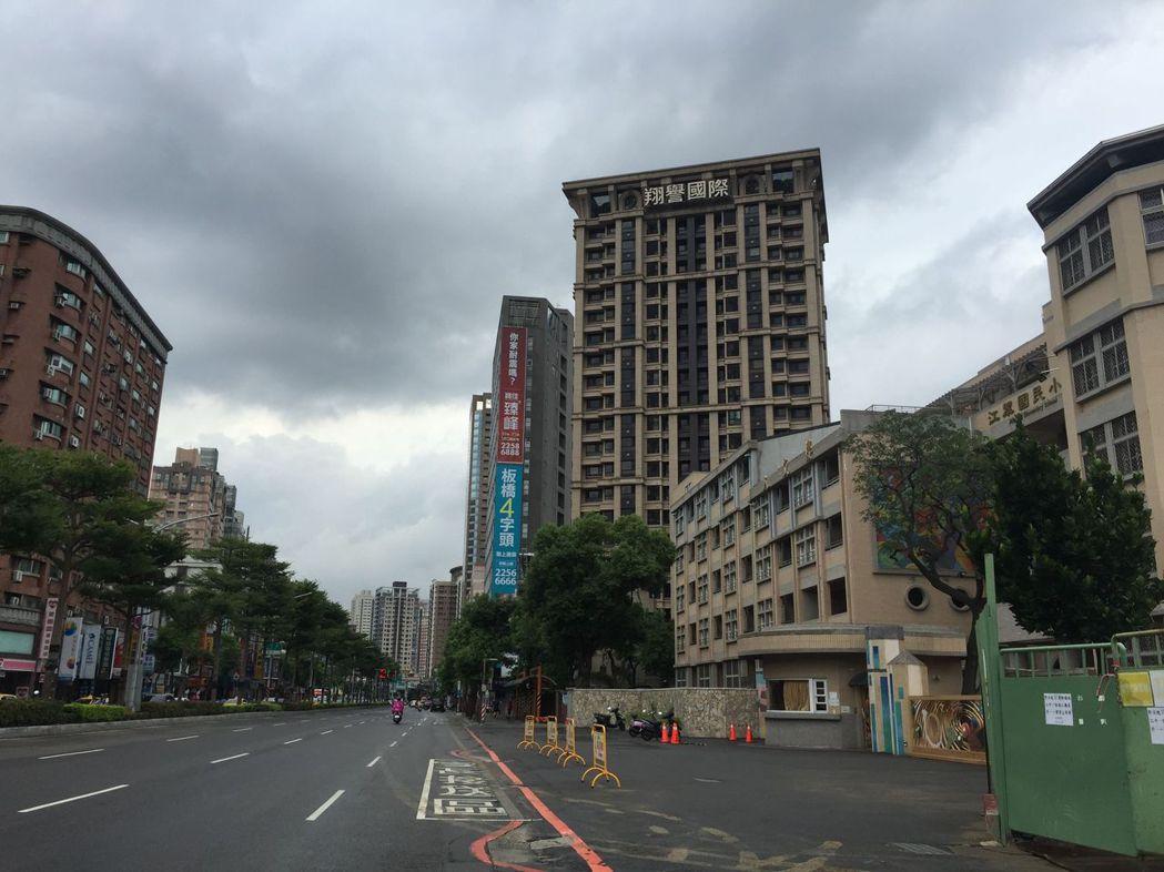板橋江翠地區 記者游智文/攝影