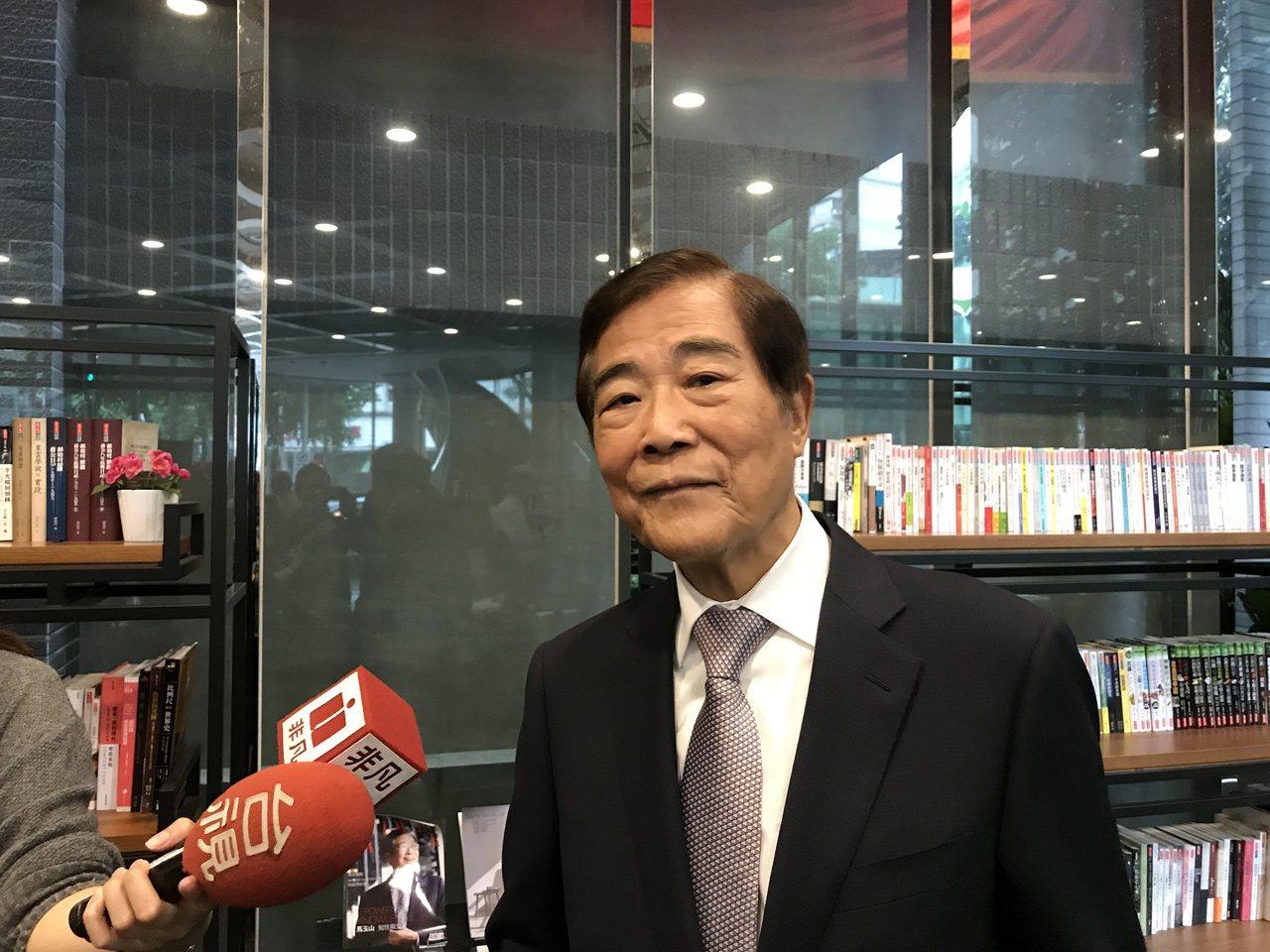 冠德建設董事長馬玉山   記者游智文/攝影