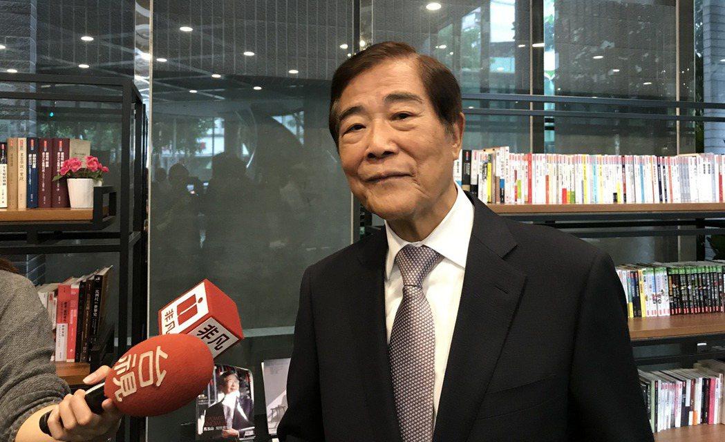 冠德建設董事長馬玉山。聯合報系資料照/記者游智文攝影