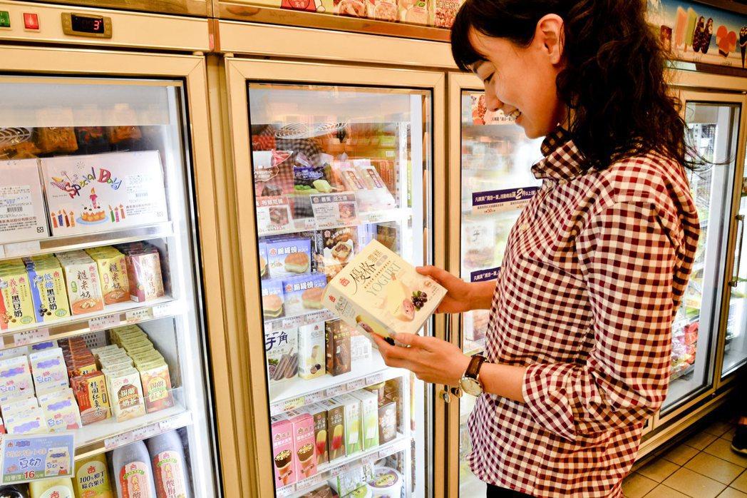 義美使用在地食材,開發一系列冰品,搶攻夏季冰品旺季。圖/義美提供