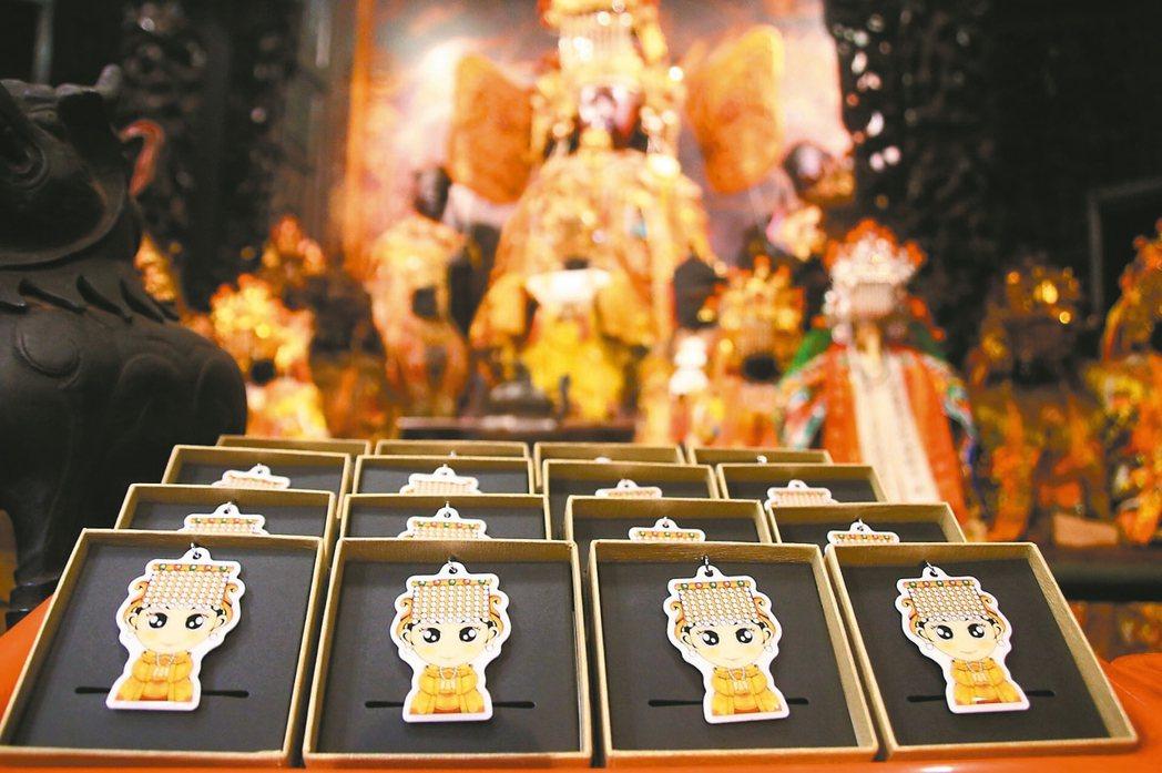 雲林縣西螺福興宮每年贈送表現優異畢業生「太平媽祖獎」,今年有Q版媽祖造型的一卡通...