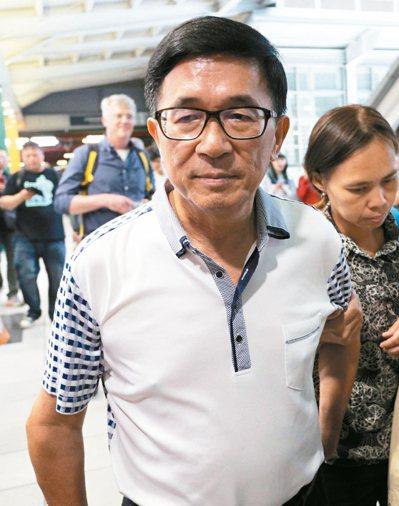 中監行文前總統陳水扁,要他日後離開處所都需申請。陳水扁不滿回嗆。 本報資料照片