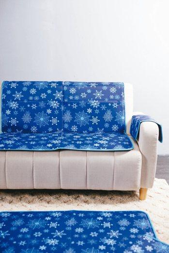 雪花固態冷凝雙人床墊售價3280元。 生活工場/提供