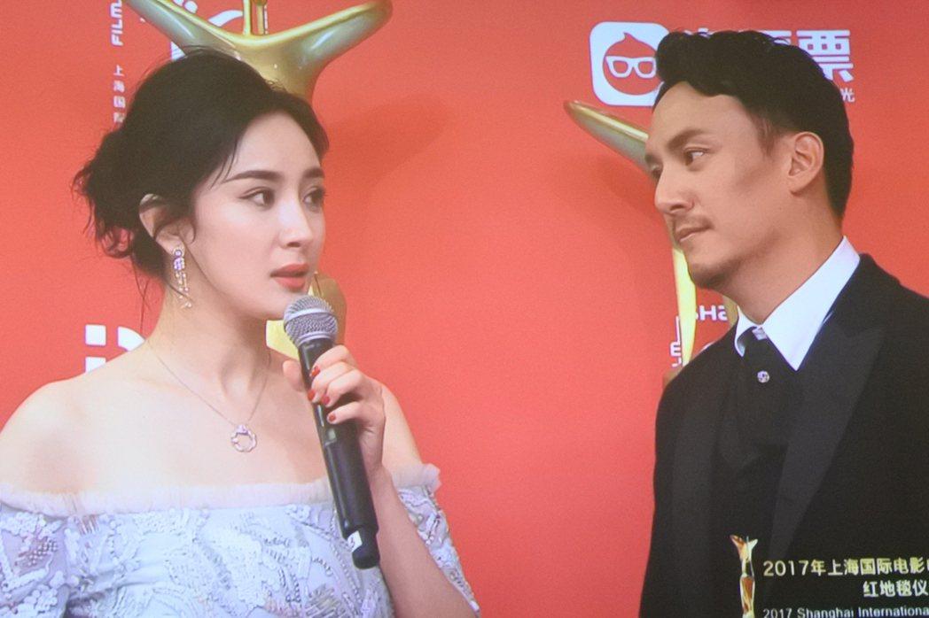 第20屆上海國際電影節17日在開幕式前舉行電影人走紅毯儀式,並在上海大光明電影院