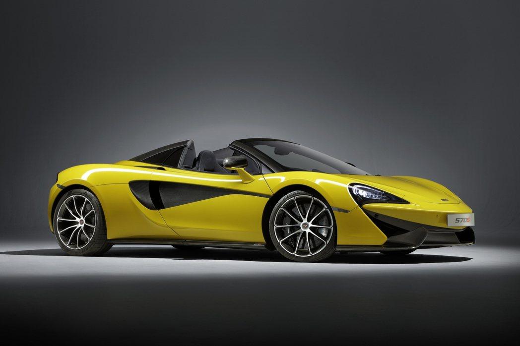 McLaren 570S Spider。圖/McLaren提供