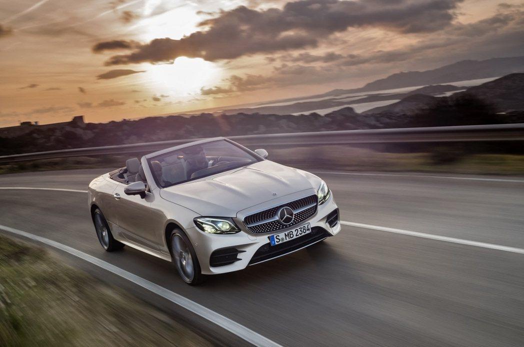 New Mercedes-Benz E-Class Cabriolet。圖/Me...