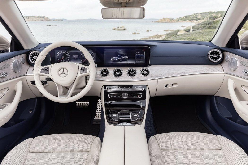 New Mercedes-Benz E-Class Cabriolet。圖/Mercedes-Benz提供