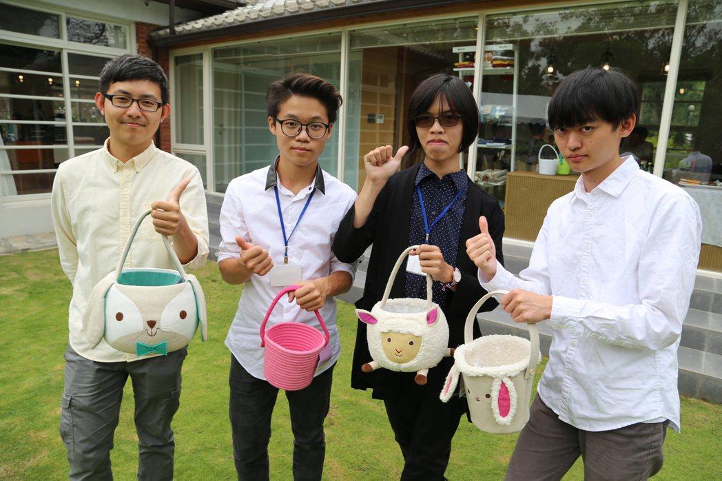 「粉紅色提籃就是復活節」獲得美國Target百貨上億訂單的產品,其他產品則是最近...