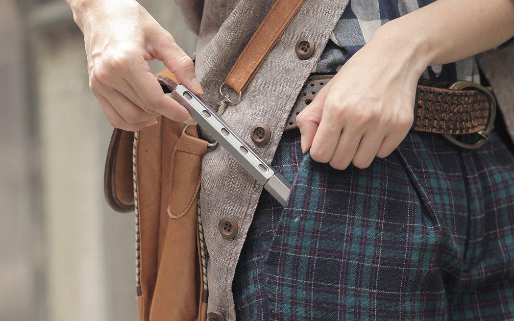 Tool Pen攜帶方便,且當整支筆放在口袋或包包中時,可保護第一個露出的起子頭...