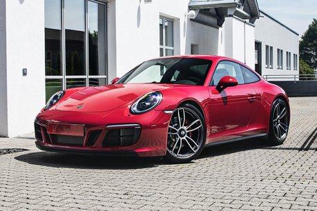TechArt推出911 GTS動力套件 快追到Turbo了!