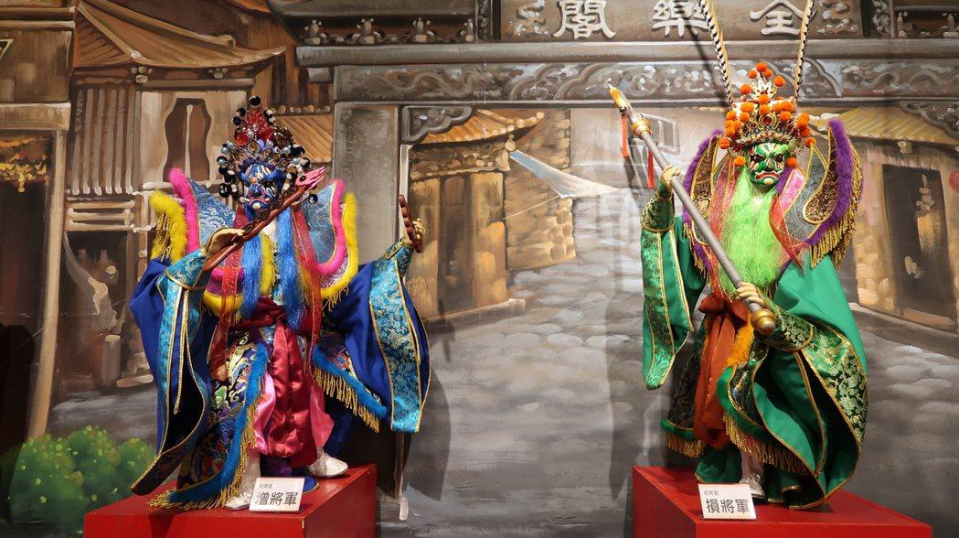 全樂閣團員製作的木偶,精緻程度已藝術品等級。記者潘欣中/翻攝