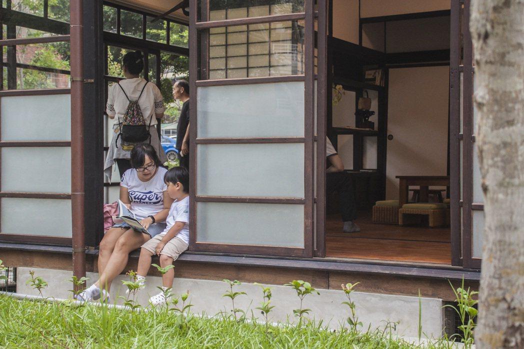 台中林懋陽故居修復完成,今重新開放並委外經營,設有茶餐廳、獨立書店等。圖/台中市...