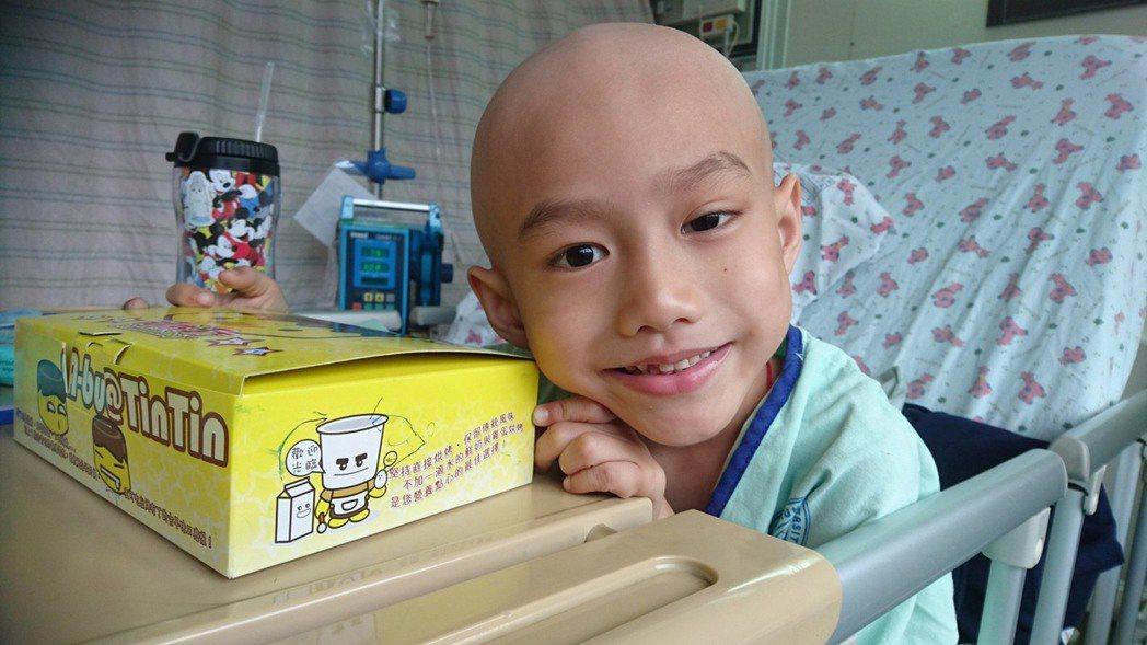 7歲的奕享今年1月辭世,自行簽下器捐同意書,捐贈眼角膜造福更多人。圖/奕享爸爸提...
