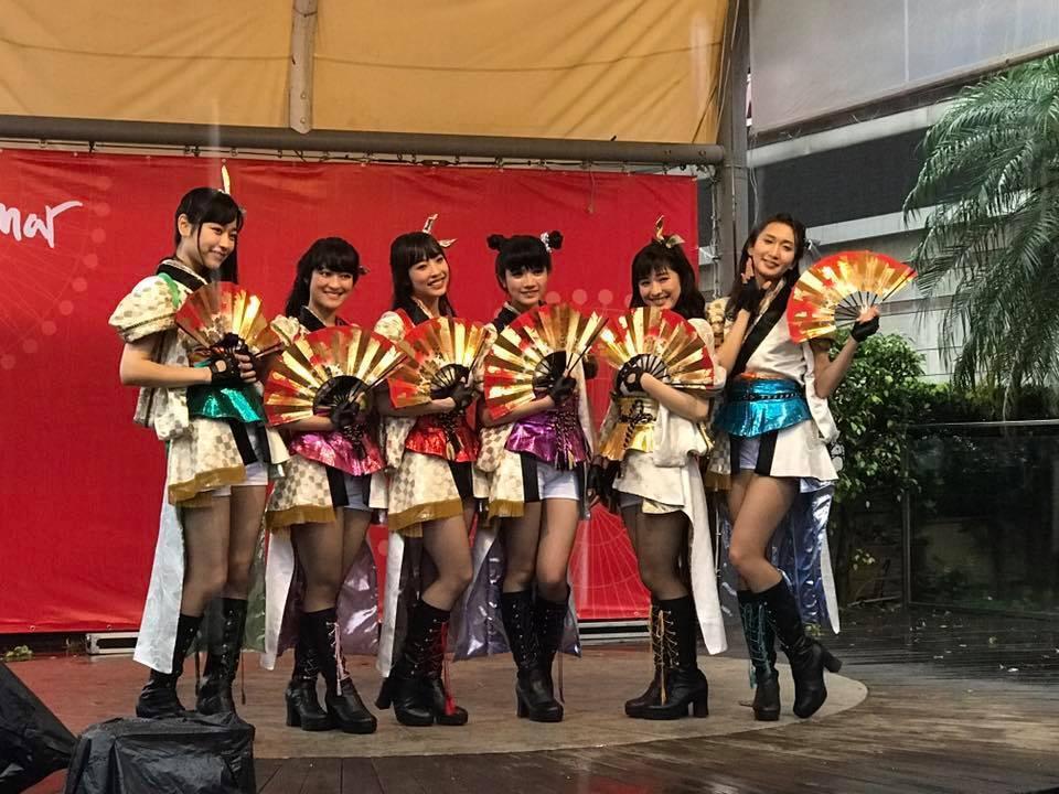 日本女團乙女鈕扣。記者梅衍儂/攝影