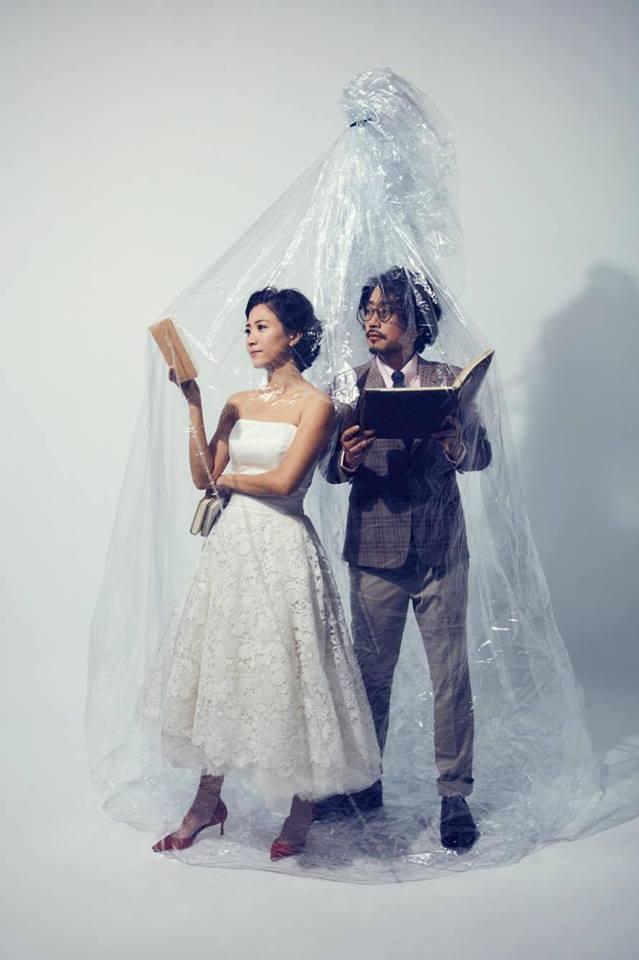 徐麗雯5月底在屏東結婚,另一半是劇場工作者張哲龍。圖/摘自徐麗雯臉書