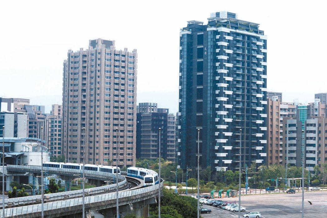 北市十大人氣捷運站中,南港軟體園區站成長19.8%居冠。 (本報系資料庫)